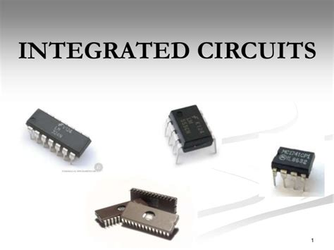integrated circuits are integrated circuits