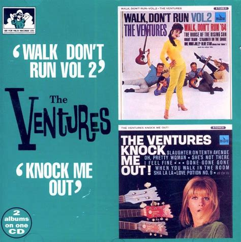 run to me lazarus rising volume 4 the ventures 2 albums on 1 cd quot walk don t run vol 2