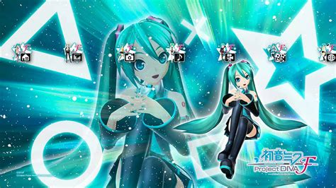 download theme changer line hatsune miku hatsune miku project diva f theme on ps3 official