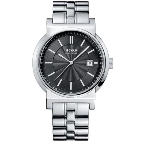 Hugo Boss Watches 1512236 Mens Polished Stainless Steel Bracelet Strap