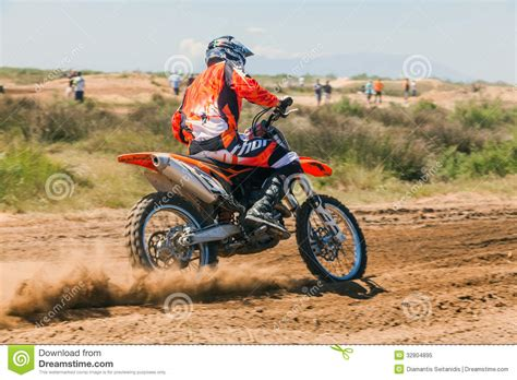 how is a motocross race motocross race editorial image image 32804895