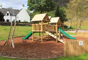 Located on site the play area is a great place for children to let off