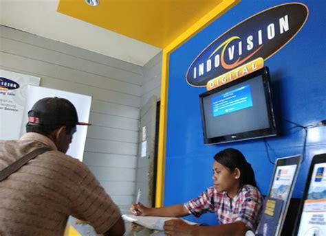 Tv Berbayar pelanggan indovision di kota jayapura terbesar golongan rumah tangga