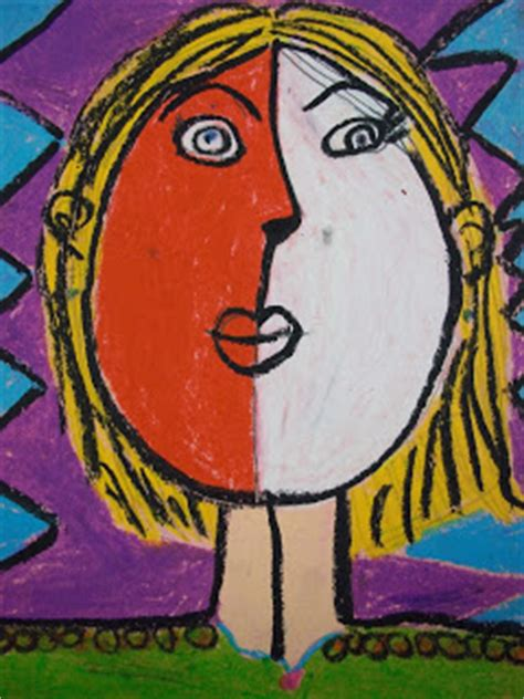picasso biography for elementary students art kids of benavidez elementary self portraits picasso