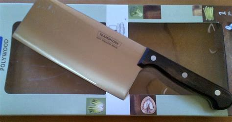 Kompor Portable Outdor cleaver knife tramontina polywood adhistore