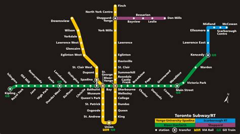 toronto subway map seoul metro vs toronto transit commission ttc canadianramen
