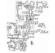 Briggs And Stratton 80100 Series Parts List Diagram