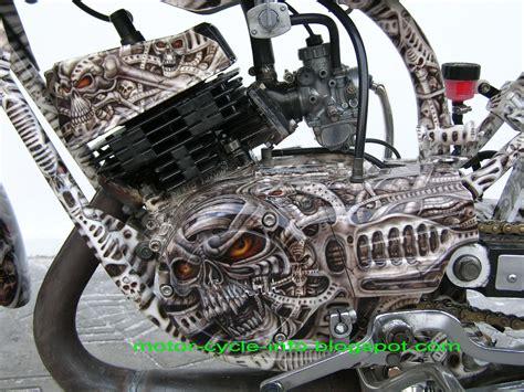 Mesin Cat Air Brush Modif Yamaha Rx King Airbrush Motor Modif