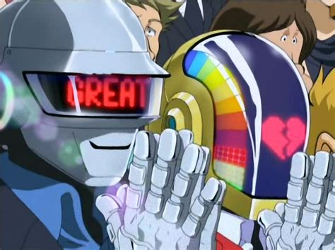 daft punk anime daft punk s cameo appearance in interstella 5555 love