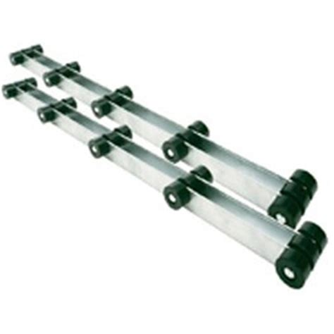 boat trailer rollers pontoon deluxe roller bunks 5 pair galvanized 145483 guide ons