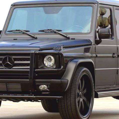 Matte Black Mercedes G Wagon My Car Gwagon Range Rover