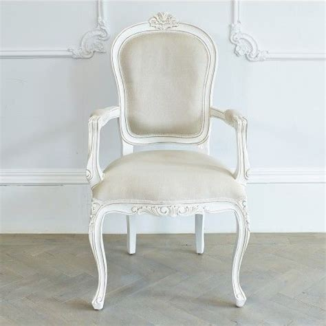 white french armchair louis classic french armchair in antique white french