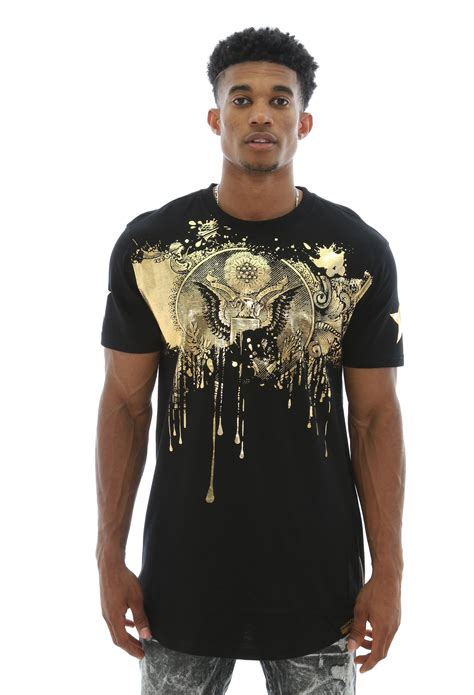 switch remarkable s gold foil printed side zippers longline t shirt ebay