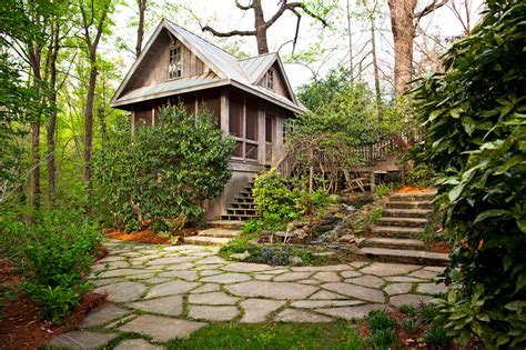 Moss Lined Terrace   Northway Landscaping