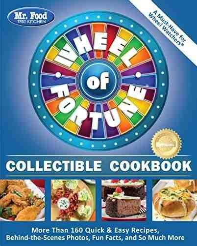 libro mr food test kitchen wheel of fortune collectible
