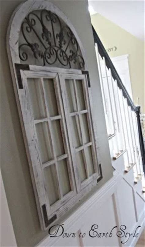retired home interior mirrored window pane shutters wall hanging arched window mirror foter