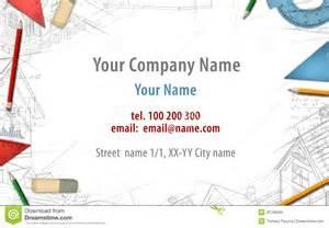 architect constructor designer builder business card