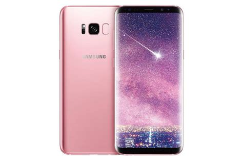 Samsung S8 Pink Gold Samsung Unveils A Pink S8 That S Only Available In Taiwan