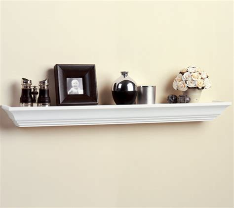 Wood Ledge Shelf by Wood Ledge Shelf 36 Inch In Wall Mounted Shelves