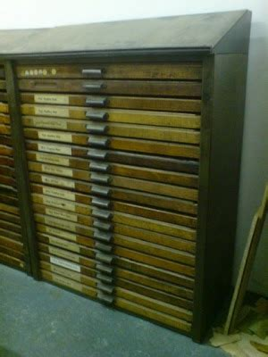 Printers Drawers For Sale by Styling And Salvage Salvage For Sale Joyce Composing