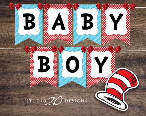 Dr Seuss Baby Shower Ideas by Lots Of Baby Shower Banner Ideas Decorations