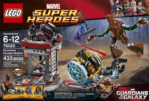 Lego Heroes 76020 Knowhere Escape Mission lego 76020 guardi 245 es da gal 225 xia knowhere escape mission brown box store