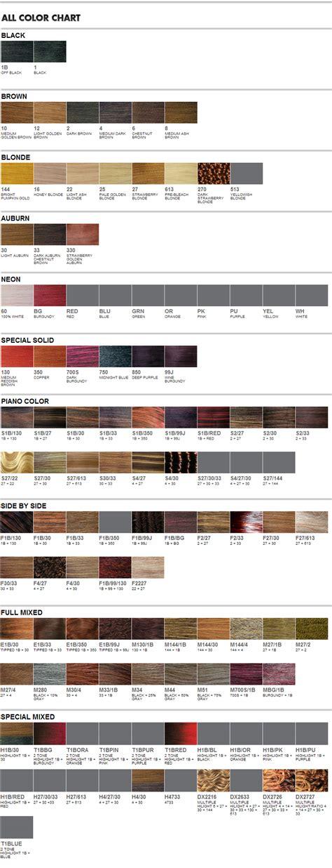 wigextensionsale web pages sensationnel color chart