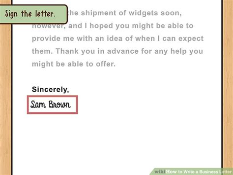 Release Letter En Espanol The Best Way To Write And Format A Business Letter Wikihow