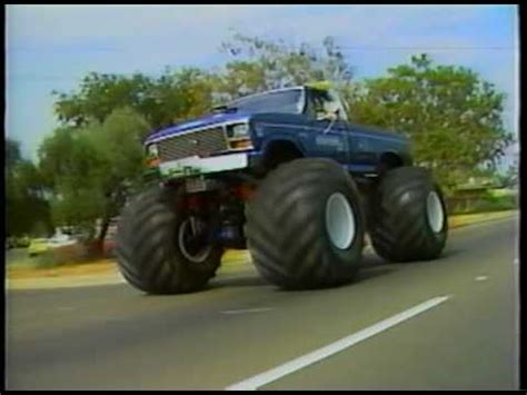 bigfoot monster truck videos youtube legend of bigfoot the original monster truck youtube