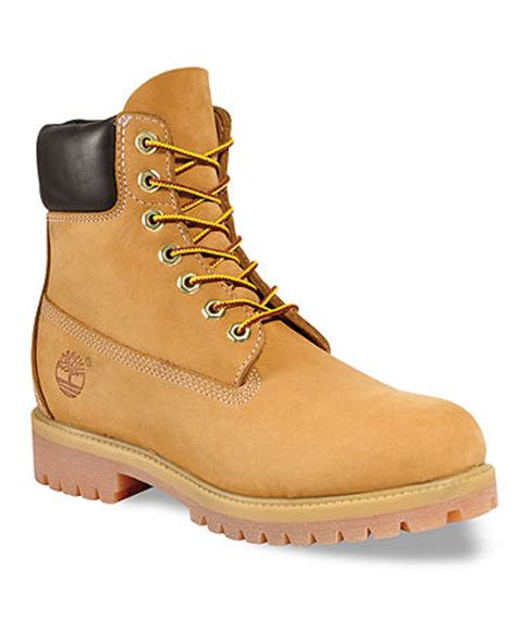 timberland 6 quot premium waterproof boots shoes macy s