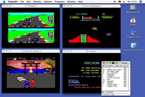best c64 power64 commodore c64 emulator for the apple macinosh