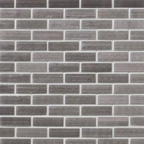 brick pattern backsplash silver metal 0 75x2 5 brick pattern backsplash wall tile