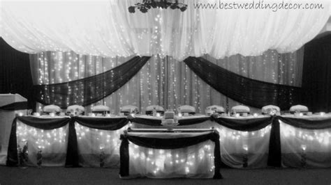 Black Silver Wedding Decorations by Black Silver White Fall Indoor Reception Summer