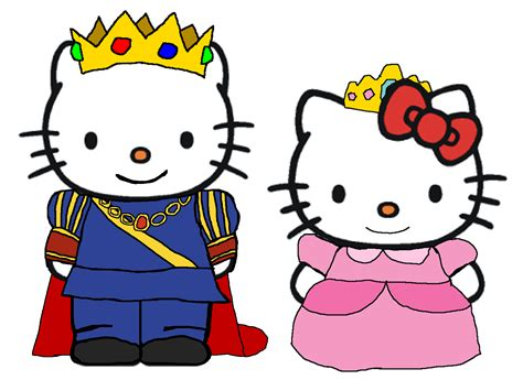 hello kitty and dear daniel coloring pages prince dear daniel and princess kitty by kingleonlionheart