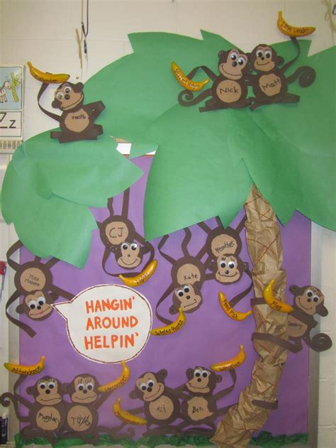banana themed ls 140 best jungle theme classroom images on