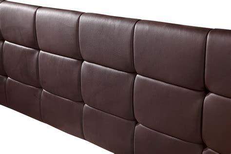 headboards leather king pu leather king bed deluxe headboard bedhead brown