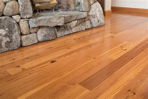 Longleaf Lumber   Select Flatsawn Reclaimed Heart Pine