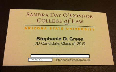 asu business card template lawyerist the undeniable ruth