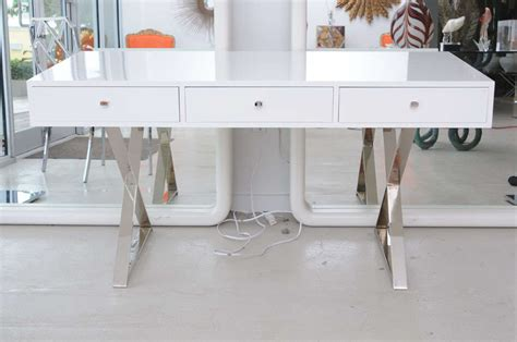 Modern White Lacquer Desk 187 Home Decorations Insight Modern White Lacquer Desk