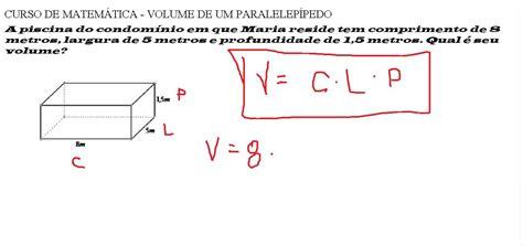 o que é capacitor de largura curso de matem 225 tica volume do paralelep 237 pedo comprimento vezes largura vezes altura