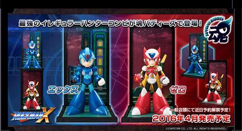Tamashii Buddies Rockman X By Bandai tamashii buddies megaman rockman x and zero collectiondx