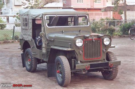 indian army jeep 4x4s in the indian army team bhp