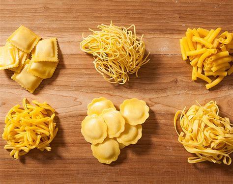 tipi di pasta fatta in casa tipi di pasta fresca