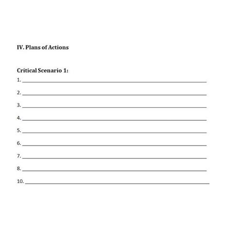 Free Downloadable Template A Plan For Crisis Management Crisis Management Plan Template 2