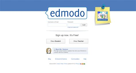 edmodo how to find group code the random robo profile social networking gets