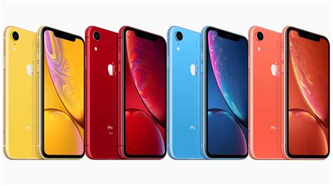 the new iphone xr comes in 6 colors and is relatively affordable vogue