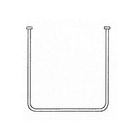 shower curtain rail u shaped akw u shaped shower curtain rail 1000mm x 920mm x 1000mm