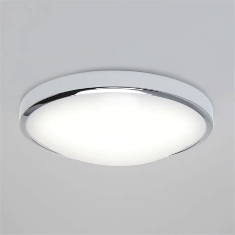 Bathroom Led Ceiling Lights Astro 7411 Osaka Sensor Led Chrome Bathroom Ceiling Light