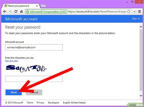 reset windows 8 password hotmail come resettare una password hotmail persa 9 passaggi