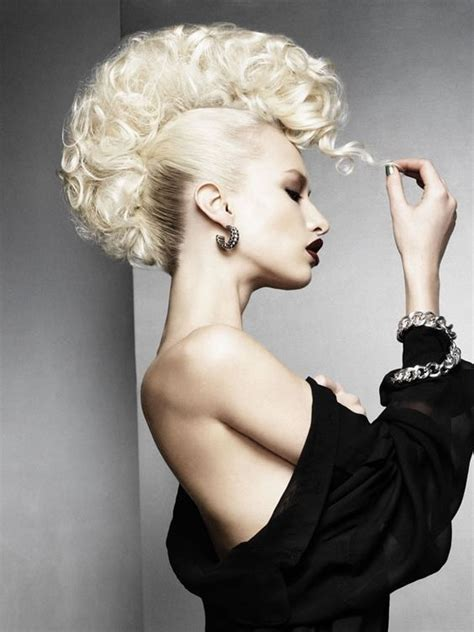cool avant garde short blonde hairstyles stylish mohawk marvel at this stunning collection from